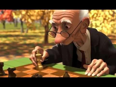 ▶ Vidéo Pixar court mettrage - Le joueur d'échec - YouTube
