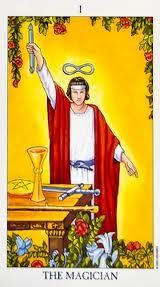 Find out what songs describe the tarot card meanings in the magician tarot card
