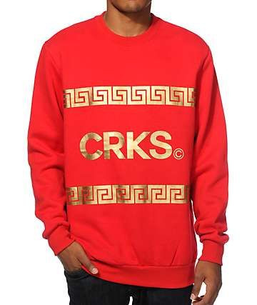 Crooks and Castles Dignified Crew Neck Sweatshirt