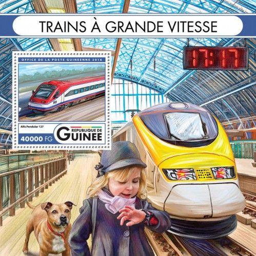 GU16420b Speed trains (Alfa Pendular 127)