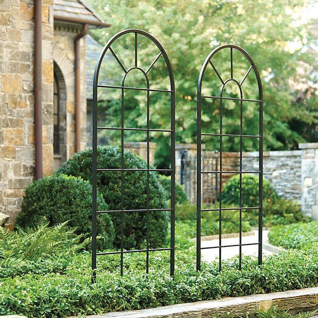Decoration iron trellis garden why should you have iron for Garden trellis ideas