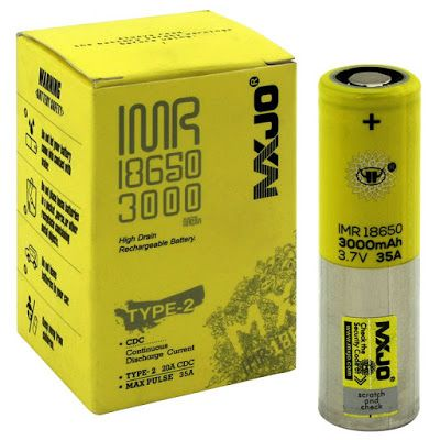 Vapor Joes - Daily Vaping Deals: USA DEAL: AUTHENTIC MXJO 18650 BATTERIES 3000MAH 3...