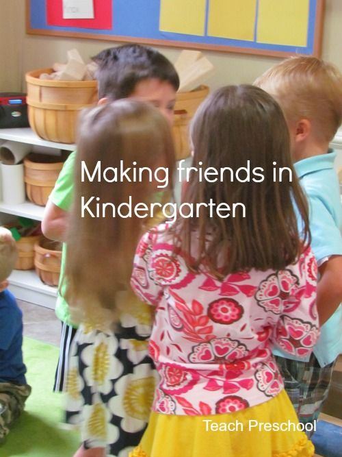Making friends in Kindergarten