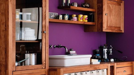 Colorful Kitchen Backsplash Idea