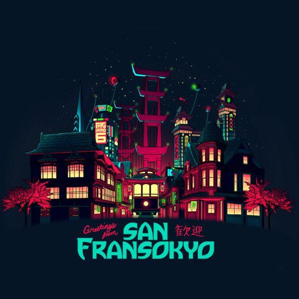 Greetings from San Fransokyo T-Shirt $11 Big Hero 6 tee at RIPT today only!