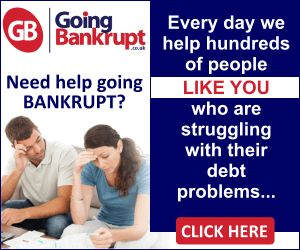 Bankruptcy Banner Design. Animated Web Banner Ads Examples 300 x 250 by Bip Banners