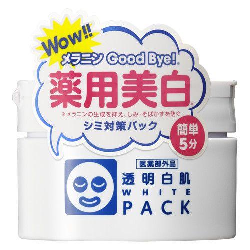 Ishizawa Lab Toumei Shirohada White Pack Whitening Face Cream 130g