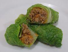 Na Biroskinha: Rolinhos de Acelga com Carne e Cenoura
