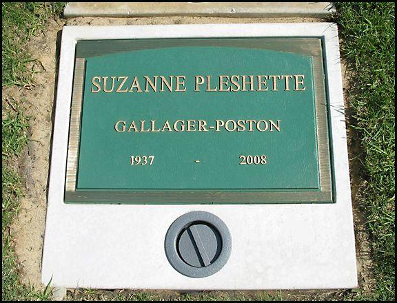 Suzanne pleshette find a grave memorial
