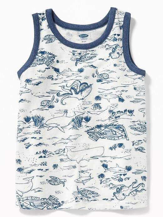 c337a269c Printed Tank for Toddler Boys #crew#knit#rib | kids fashion ...