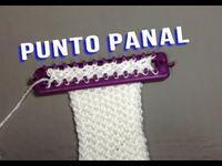 PUNTO PANAL TELAR MAYA // Como tricotar fácil tear - Ideal para lenços - E ...