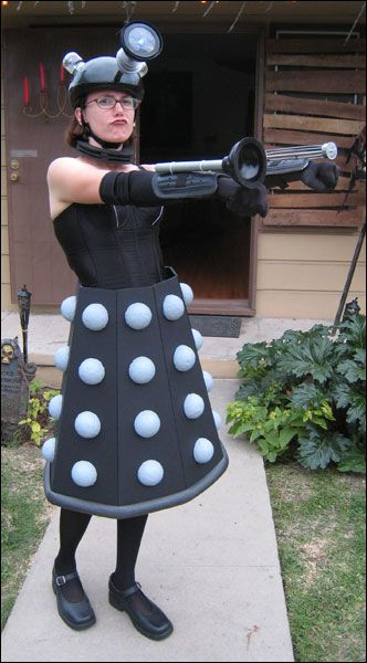 Daleks of the Day: Dalek Costume