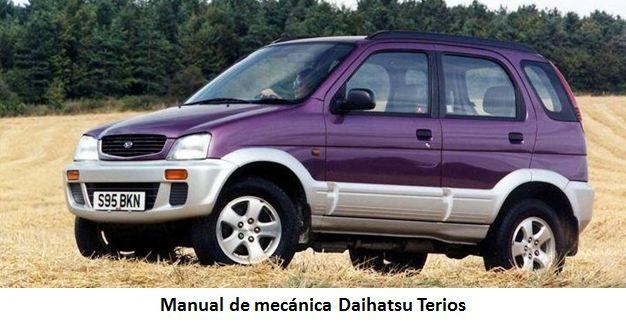 Descarga El Manual De Mecanica Y Reparacion Pare El Daihatsu Terios Manual Escrito En Archivo Pdf La Descarga Es C Daihatsu Terios Daihatsu Transmision Manual