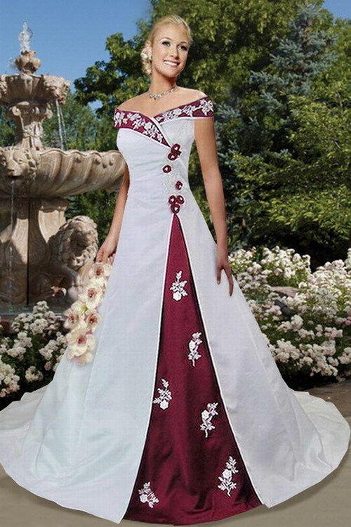 Two Tone Bridesmaid Dresses Julie Dwedding Dress H402