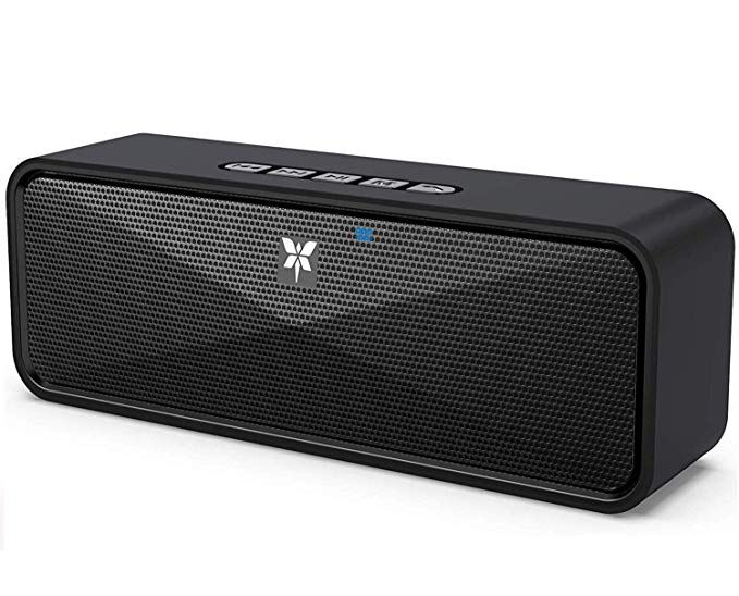 12W Wireless Wood bluetooth Speaker TF AUX FM Home Party Music Super Bass