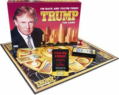 donald-trump-board-gam... Jumanji Board Game