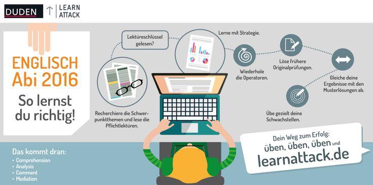Mit der richtigen #Lernstrategie fürs #Abitur in #Englisch lernen. #Lerntipps #Motivation #lernen #Bildung