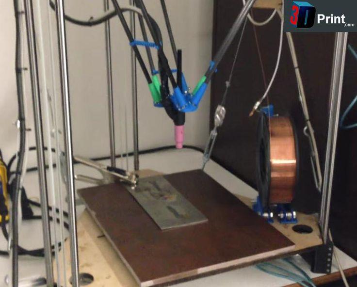 Man Has Developed a 3D Metal Printer for Just 600€: Prints in steel, titanium and more http://3dprint.com/4787/3d-metal-printer-600-euros/