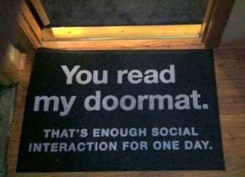 Funny Doormats That Will Definitely Add Personality To Your Home's Front Door (PHOTOS)