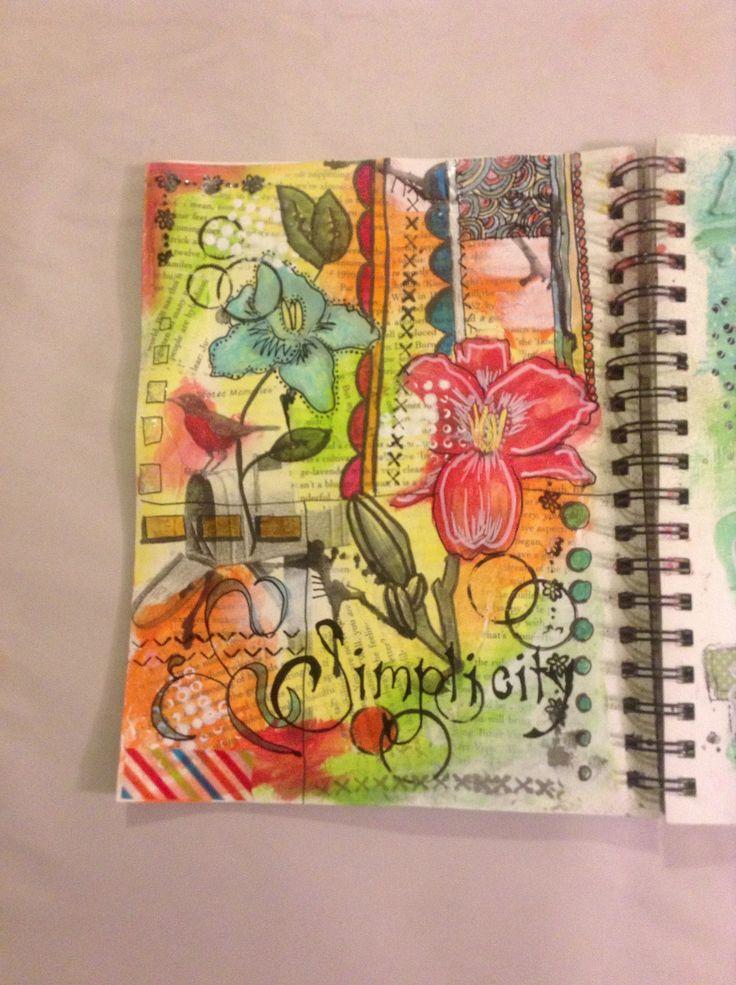 Art journal - project #5