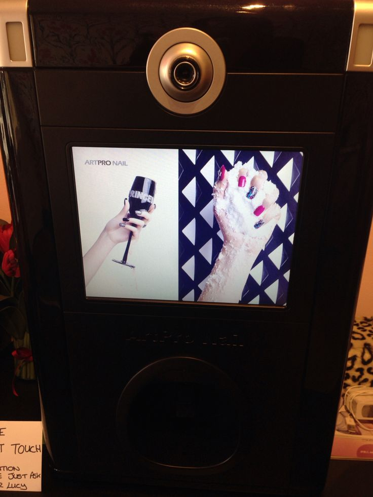 Digital nail printing available at Truly Scrumptious Salons. There are only 8 off these machines in the country and we are the only salon in Warwickshire to have this fabulous machine.