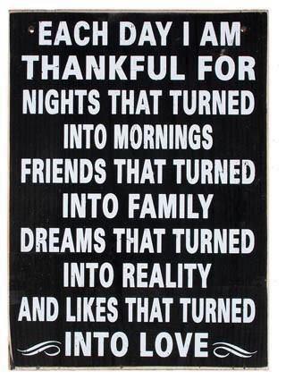 each day, i am thankful