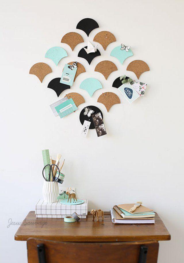 p le m le avec des dessous de verre en li ge diy moodboard d co for the home pinterest. Black Bedroom Furniture Sets. Home Design Ideas