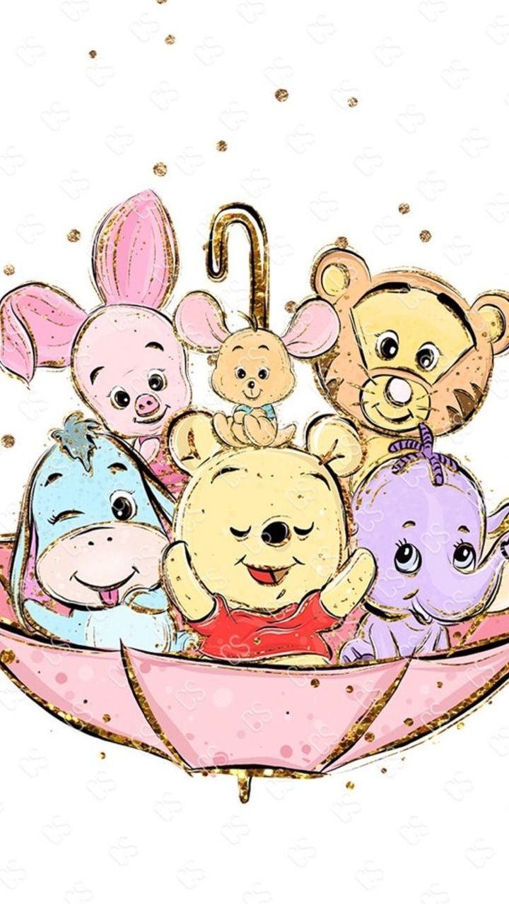 Winnie The Pooh Cute disney drawings, Cute winnie the