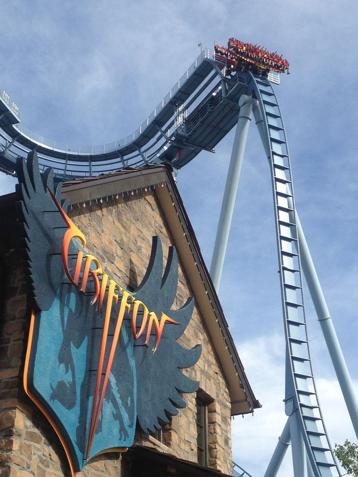 Pin griffon roller coaster flickr photo sharing picture on pinterest for Busch gardens williamsburg griffon
