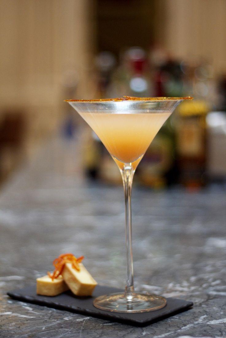London Cocktail Week: Andaz Edition     Recipe:   30ml Vodka 5ml Limoncello Fresh Passion Fruit Juice Fresh Grapefruit Juice   Fresh Pineapple Juice Drops of Secret Bitters Garnish: Caramelized Grapefruit