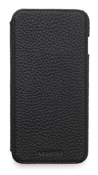 ADOPTED Leather Folio iPhone 6 Plus Case