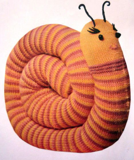 Sally Snail - Knitting creation by Kathy | Knit.Community