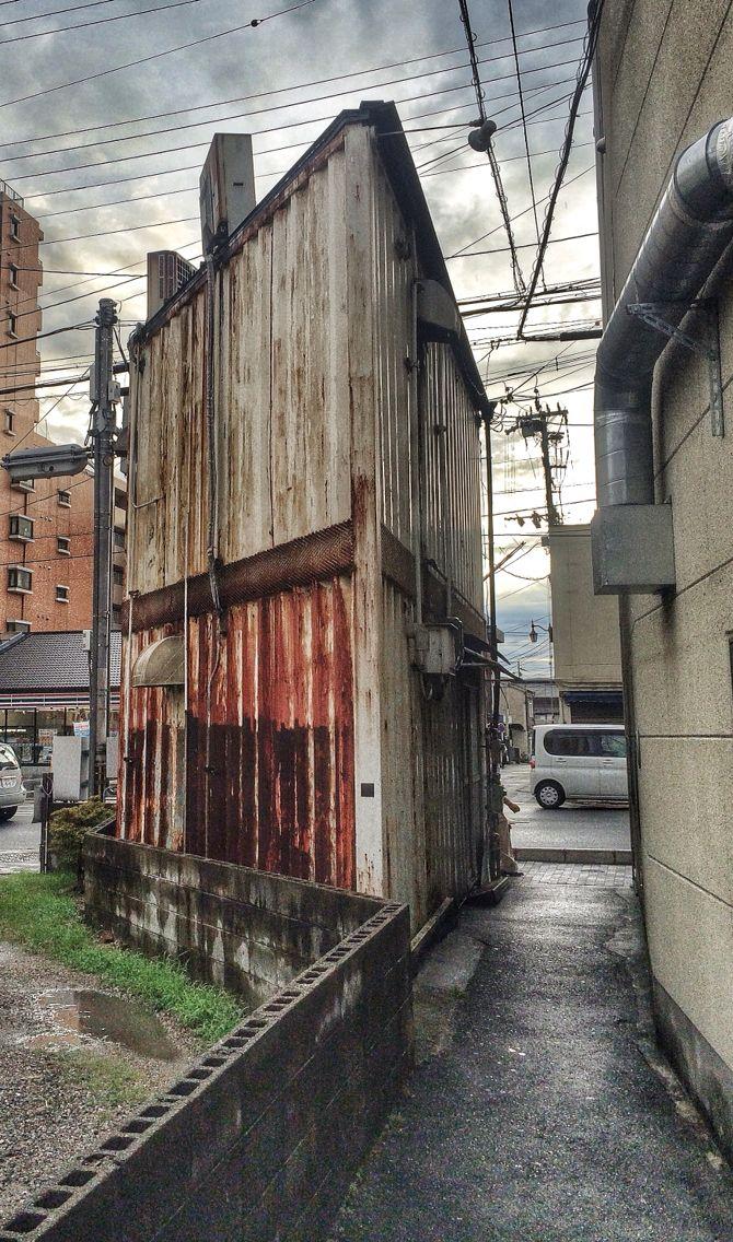 Ancienne échoppe - Kyōtō. Photo © Copyright Yves Philippe