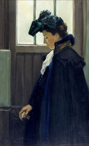 It's About Time: Women by Finnish Artist Albert Edelfelt 1854-1905