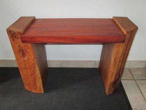 Nr-90-Sitzbank-Eiche-Mahagoni-72cm-x-29cm-x-48cm-Hocker-Eiche