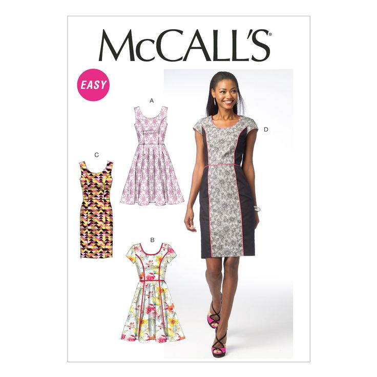 32 best McCalls Patterns Purchased images on Pinterest | Sewing ...