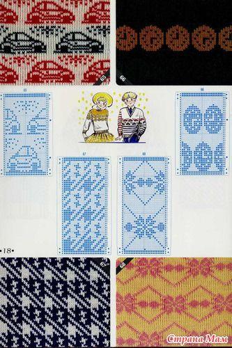 knitting pattern II TOYOTA 21
