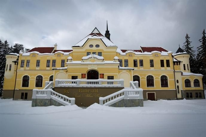 Rubezahl-Marienbad  Historical Castle Hotel - bertie stayed here