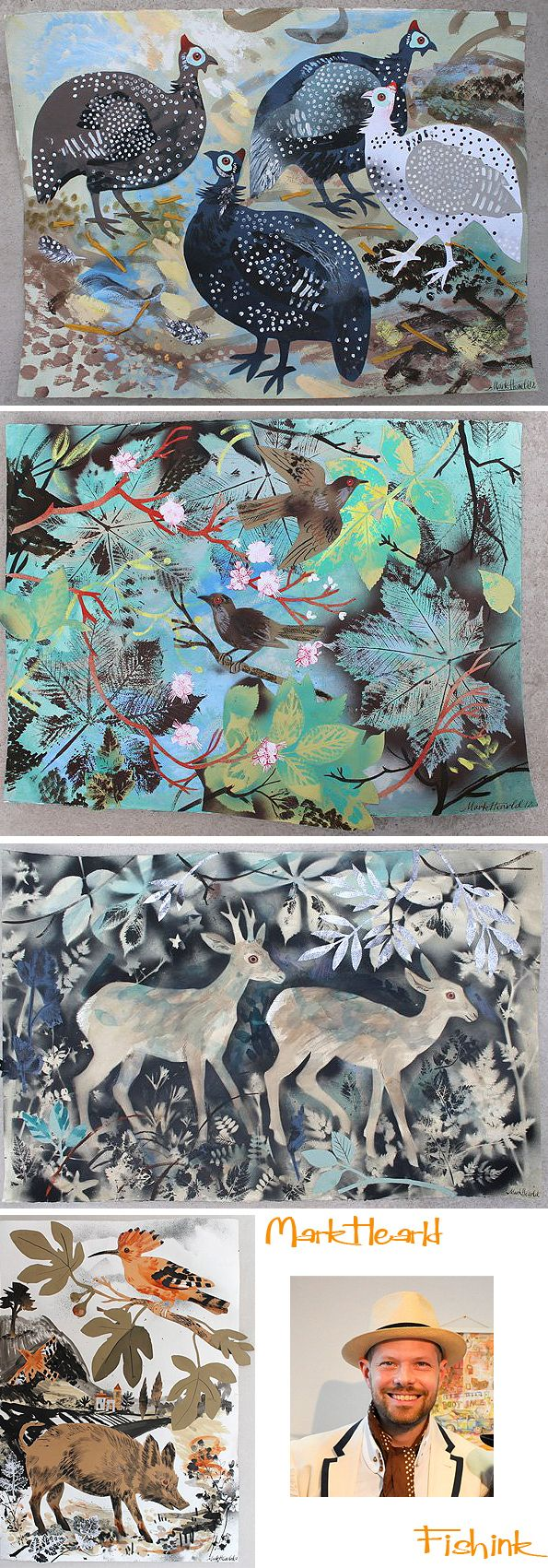 St. Judes in the City. An Exhibition of new work by Angie Lewin, Mark Hearld…
