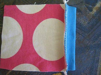 Verschillende methoden om tricot boordjes te naaien