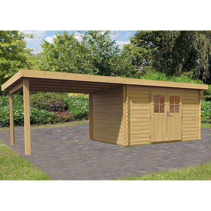 Karibu Holz-Gartenhaus Ängelholm 7 Set Natur 357 cm x 297 cm Jetzt bestellen unter: https://moebel.ladendirekt.de/garten/gartenmoebel/gartenmoebel-set/?uid=e5997080-1210-58f5-91e3-e38ad6da550e&utm_source=pinterest&utm_medium=pin&utm_campaign=boards #freizeit>gartenhäuser #garten #gartenmoebel #gartenmoebelset #zubehör>holzgartenhäuser Bild Quelle: obi.de