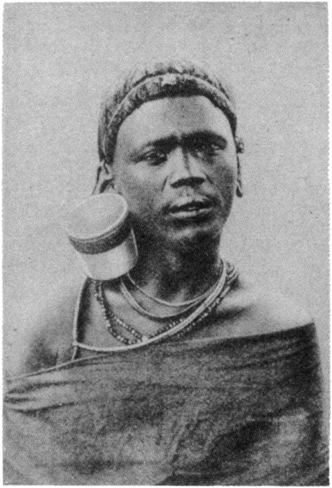 """From the Secret Museum of Mankind Volume 2. Published 1935   """"The Kikuyu, natives of the Nairobi District, stretch their ear-lobes with weights and jampots"""""""