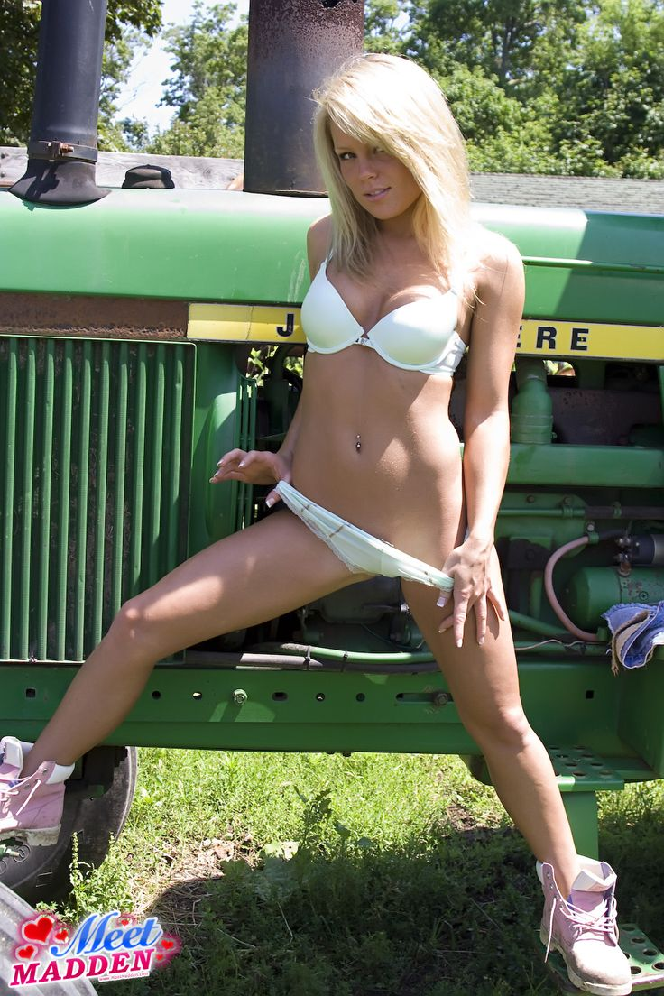 from Kamden naked country girls on tractor
