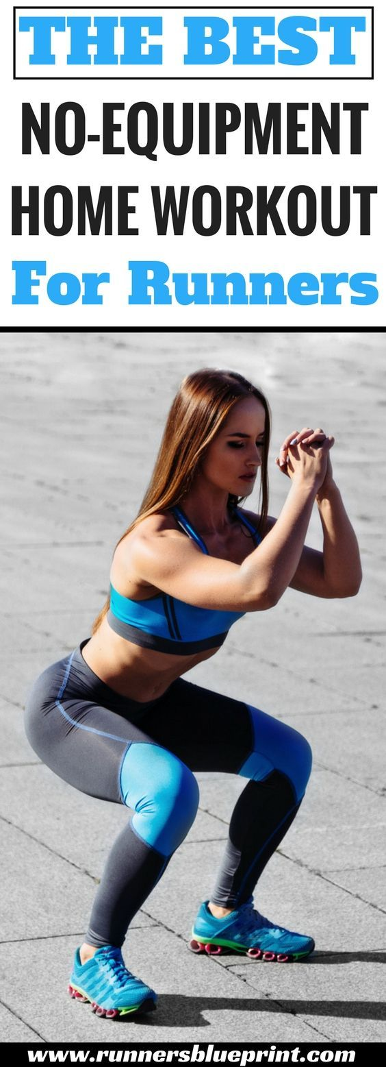 The best no equipment home workout for runners fitness