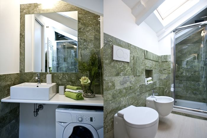 Italian bathrooms: smart solutions for small luxury bathrooms | Design by Arch. Martina Margaria