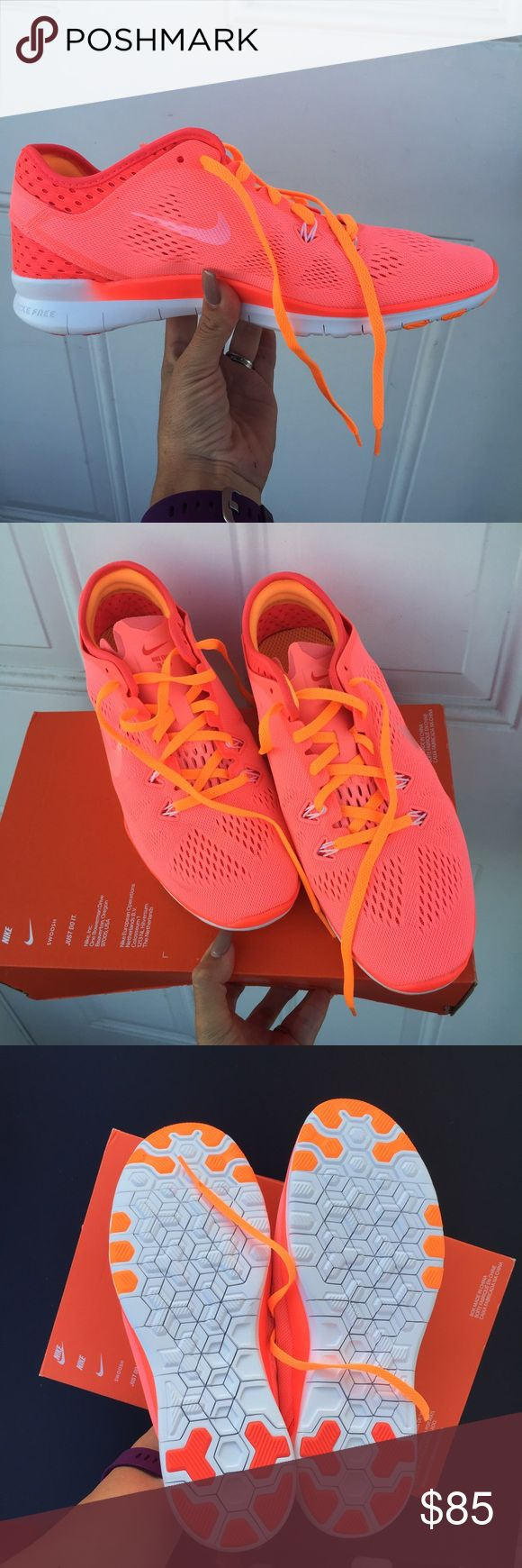 NIKE Free 5.0 tr fit lv glw Sz 8.5 new NIKE Free 5.0 tr fit lv glw Sz 8.5 new box is missing the Lid item #2050 Nike Shoes