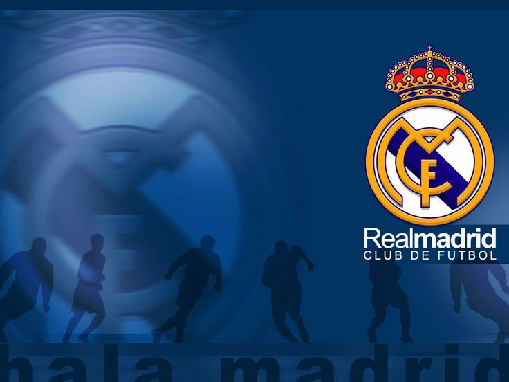 Real Madrid Club Logo Football Wallpaper HD