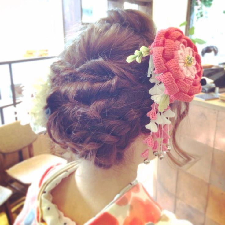 〔2015卒業式〕袴にぴったりな編み込みを取り入れた髪型カタログ|MERY [メリー]