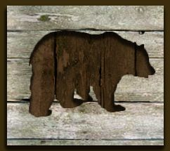 Black bear silhouette pallet art. X-Large - $350 Large - $275  Medium - $225 Small - $200  See Price List for dimensions and ordering information.