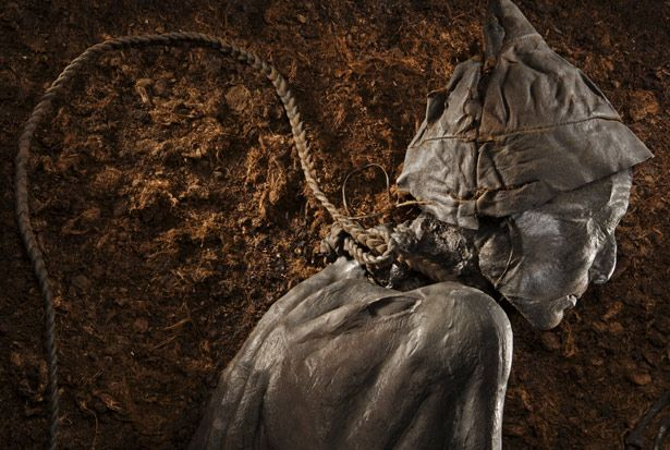 Another view of the Tollund Man